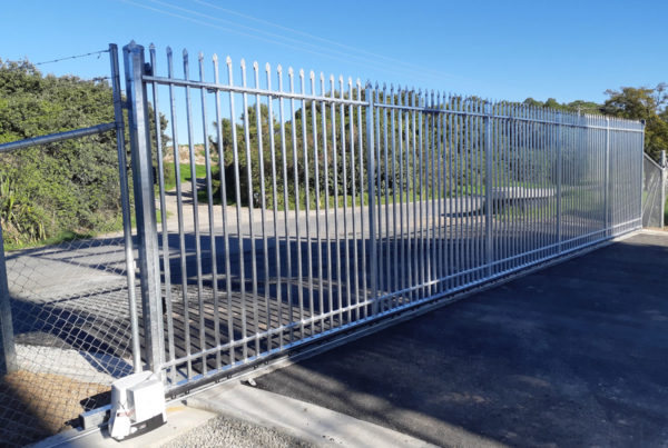 12m Spear Top sliding gate