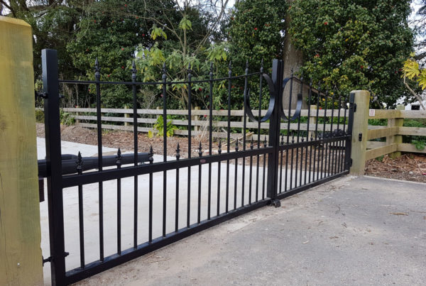 Custom made aluminium gates