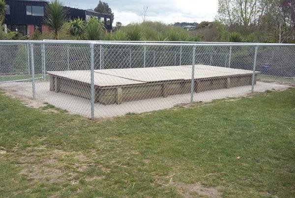 Sand Pit Cage Rototuna Primary